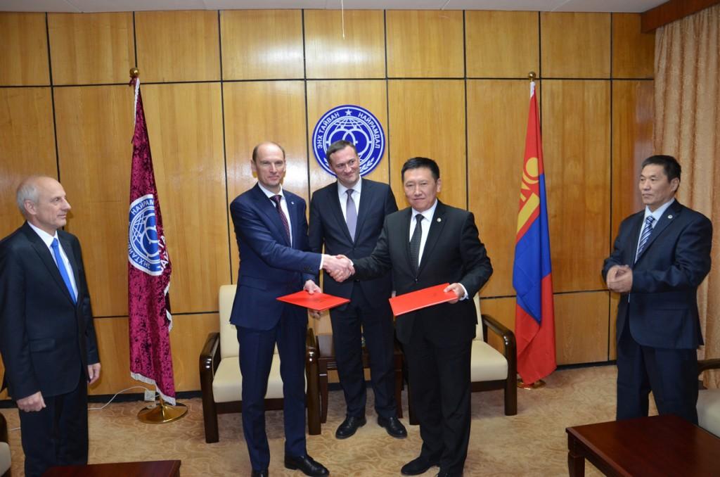 Сотрудничество с организацией Мира и Дружбы Монголии