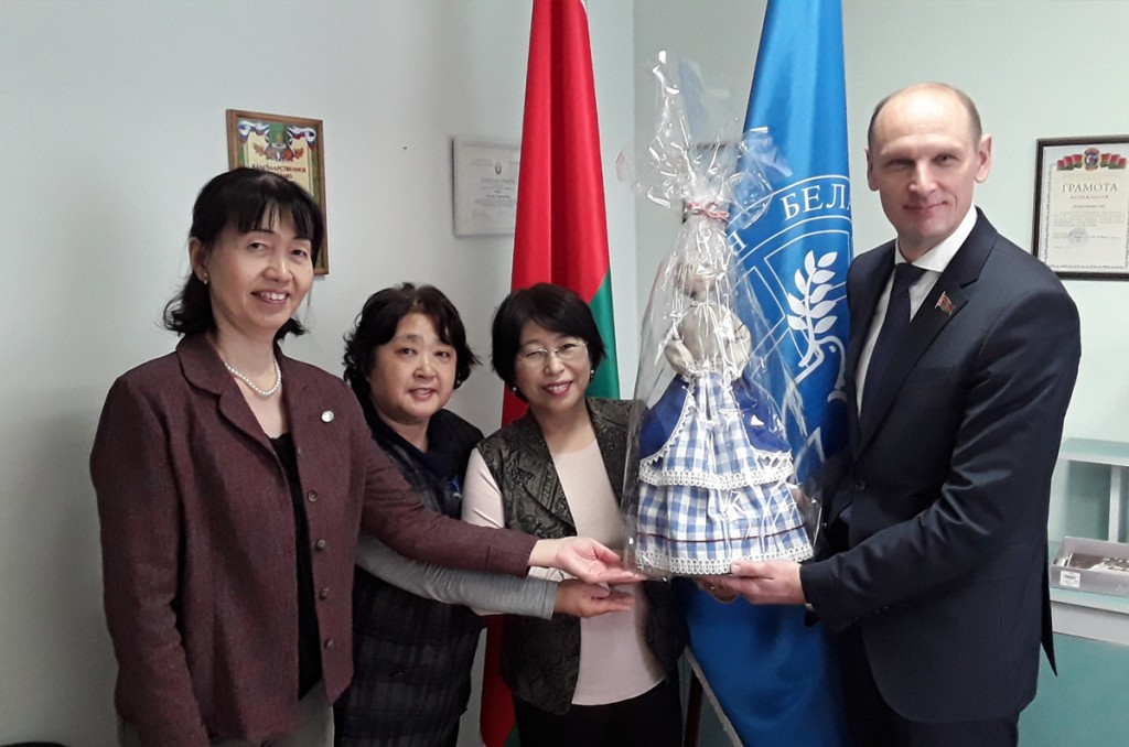 Встреча с представителями Федерации женщин за мир во всем мире из Японии.