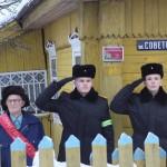 """Гражданско-патриотическая акция """"Здесь живет ветеран"""" 2"""