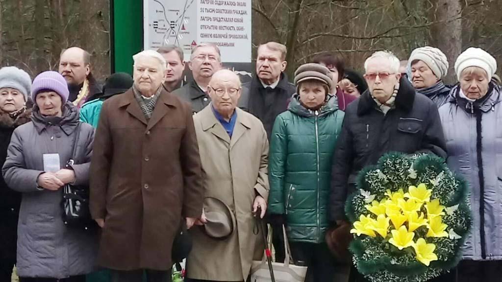 Акция памяти и скорби в поселке Озаричи Калинковичского района