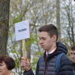 Общественность города Бреста вспоминает узников фашизма 2