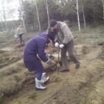 Посадка деревьев - спасение чистого мира 1