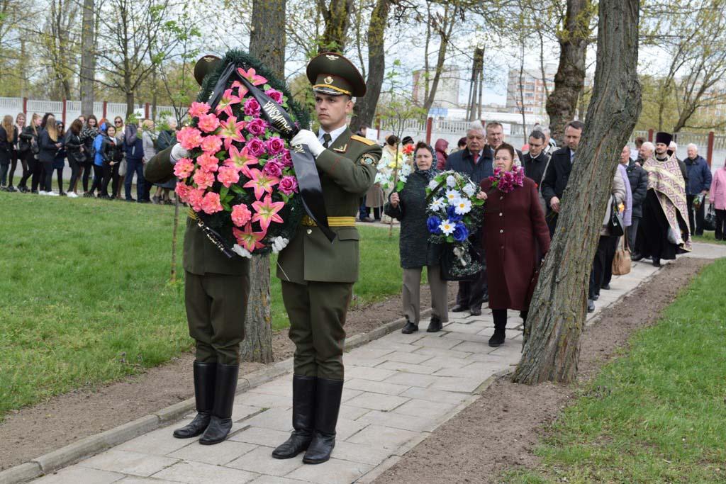 Общественность города Бреста вспоминает узников фашизма