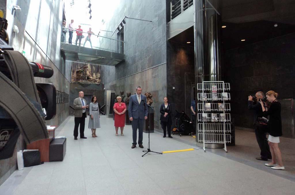 Открытие выставки в Белорусском государственном музее истории ВОВ