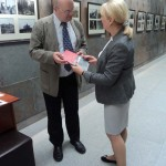 Открытие выставки в Белорусском государственном музее истории ВОВ 1