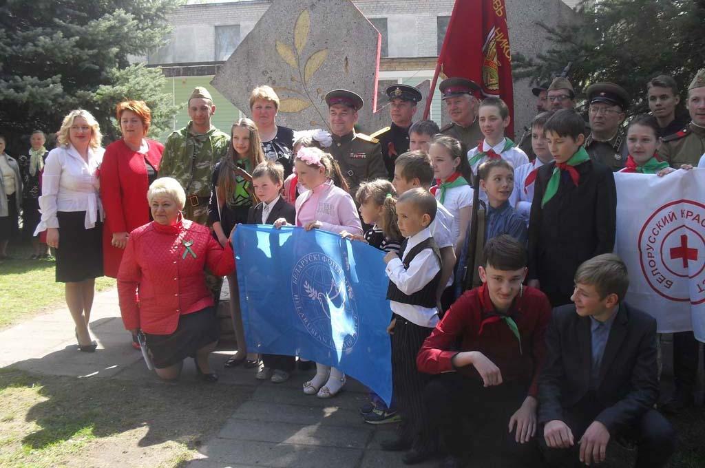 Марш мира 2017 в Березовском районе