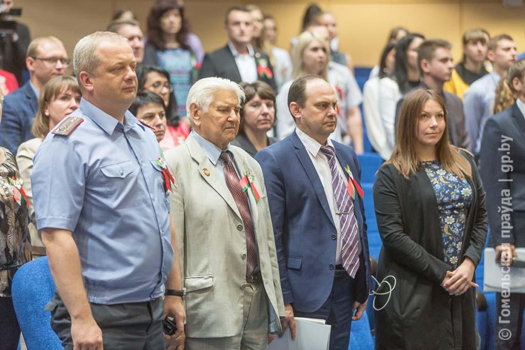 БРСМ отметил наградой миротворцев Гомельщины