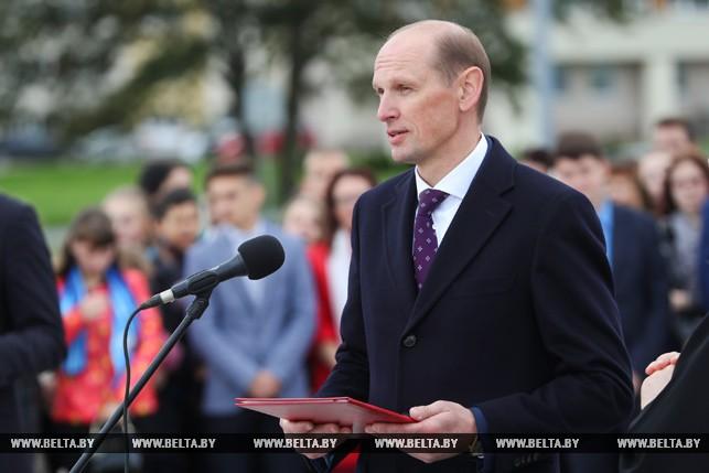 Митинг посвященный Международному дню мира прошел в Минске 4