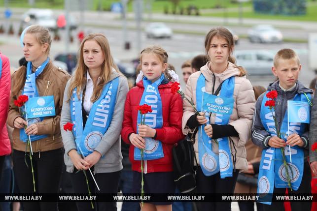 Митинг посвященный Международному дню мира прошел в Минске 1