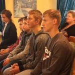 Общественные организации Ленинского района Гродно приняли участие в акции «Соберем детей в школу» 2
