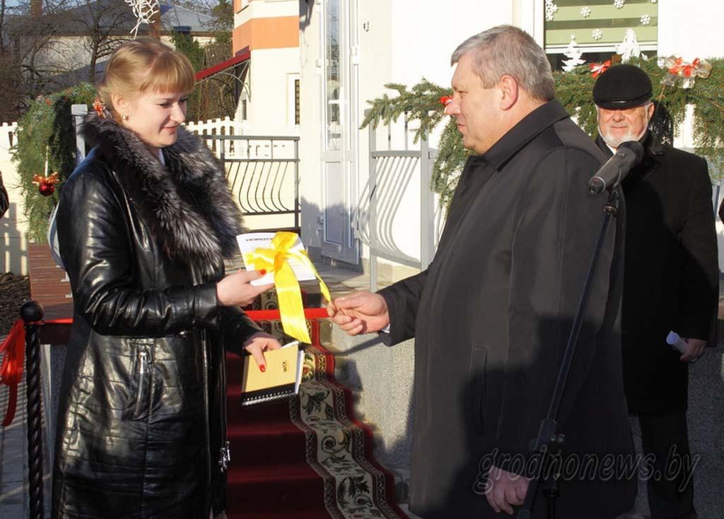 В Гродно торжественно открыт пятый дом семейного типа