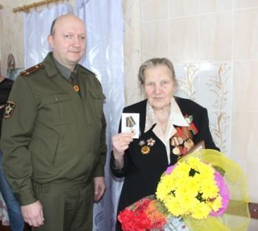 Вручение медали Бержаниной Е.Л.3