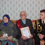 """Гражданско-патриотическая акция """"Здесь живет ветеран"""" 5"""