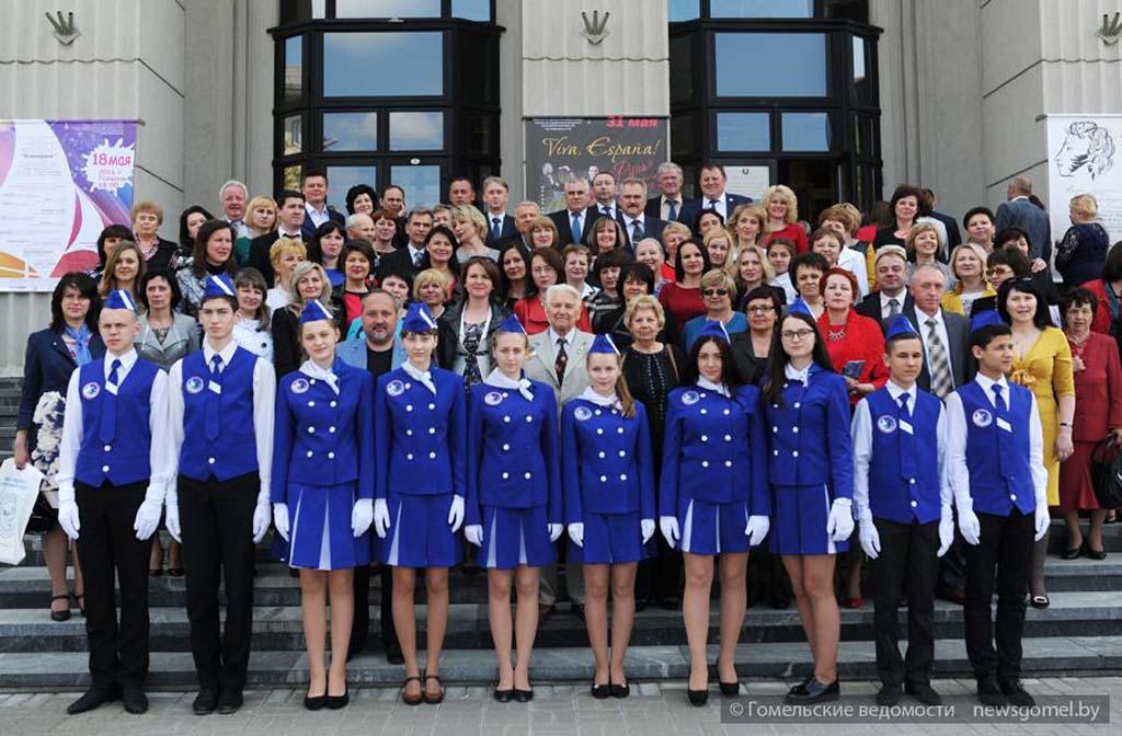 Гомельчанам вручили нагрудные знаки «Заслуженный миротворец»