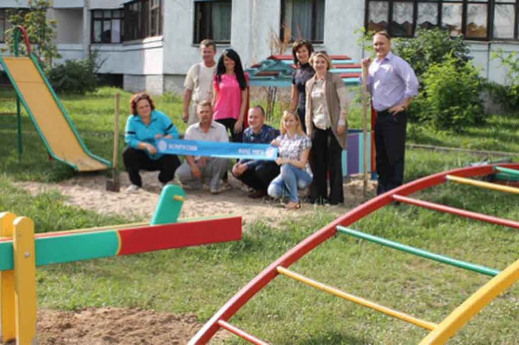В Бобруйске прошла акция «Благоустроим дворы вместе!»