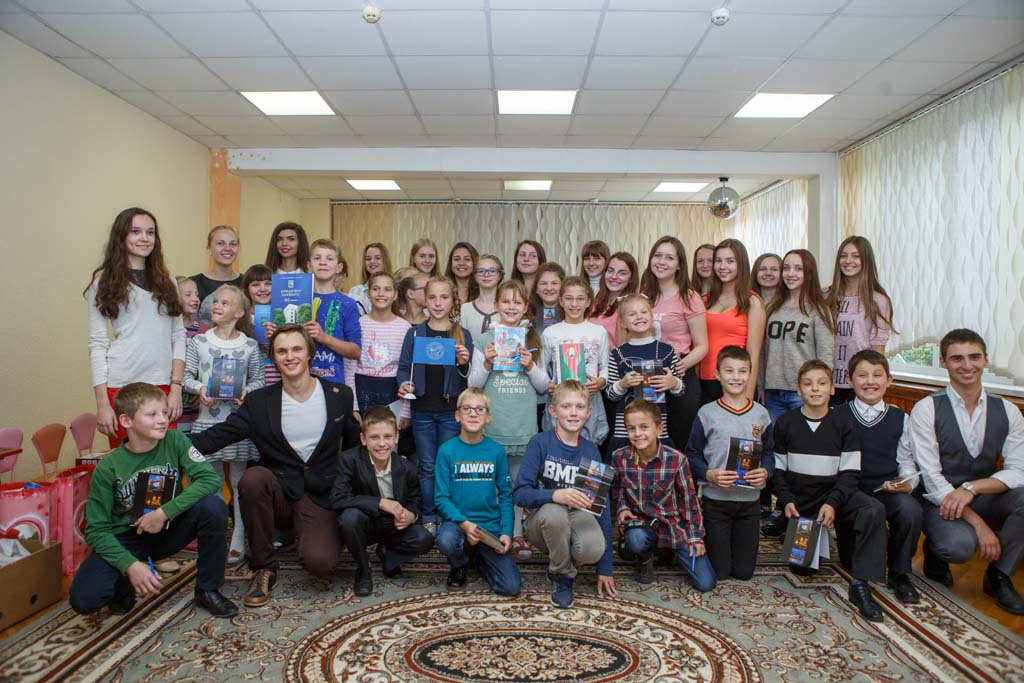 «Молодежный блок фонда мира — детям столицы»!