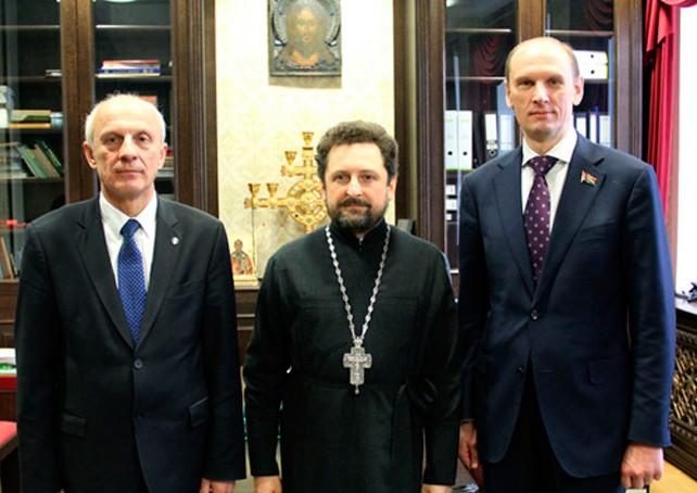 Минская духовная академия приняла гостей