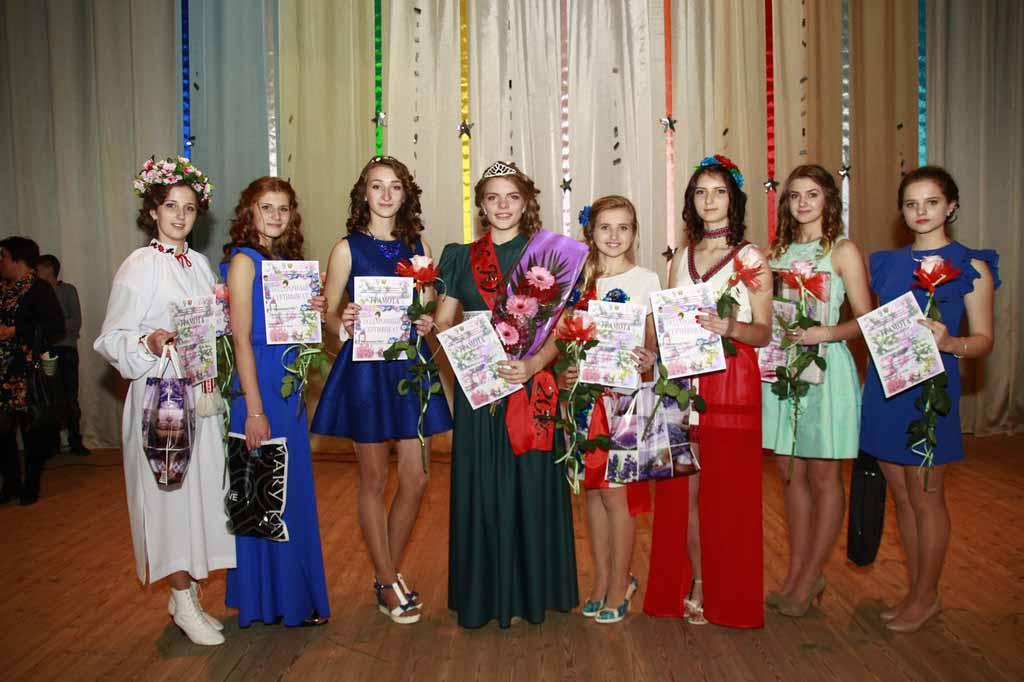 Конкурс «Мисс-юность – 2016года» в Малорите.