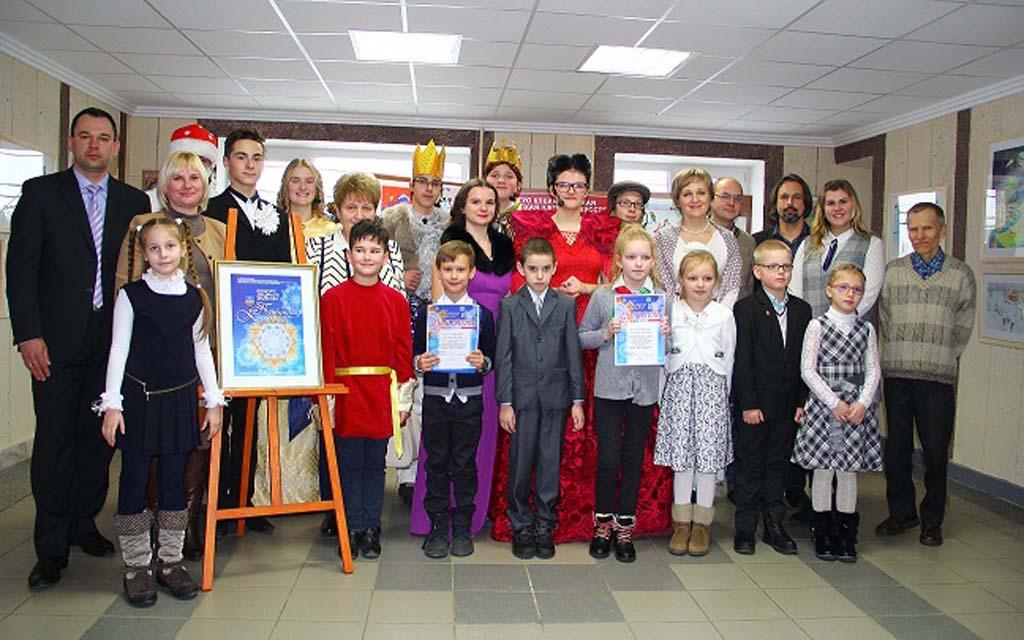 Конкурс детского рисунка «Прыбужскiя каляды».