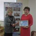 Почти два десятилетия Посол мира Ванда Мацкевич возглавляет Сморгонскую районную организацию ОО «Белорусский фонд мира» 1