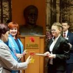 Урачыстая цырымонія ўручэння пашпартоў маладым грамадзянам Рэспублікі Беларусь 7