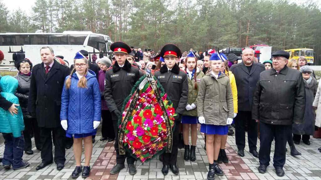 Акция памяти и скорби в поселке Озаричи Калинковичского района 1