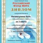 Юные гомельчане победили в международном миротворческом конкурсе 3