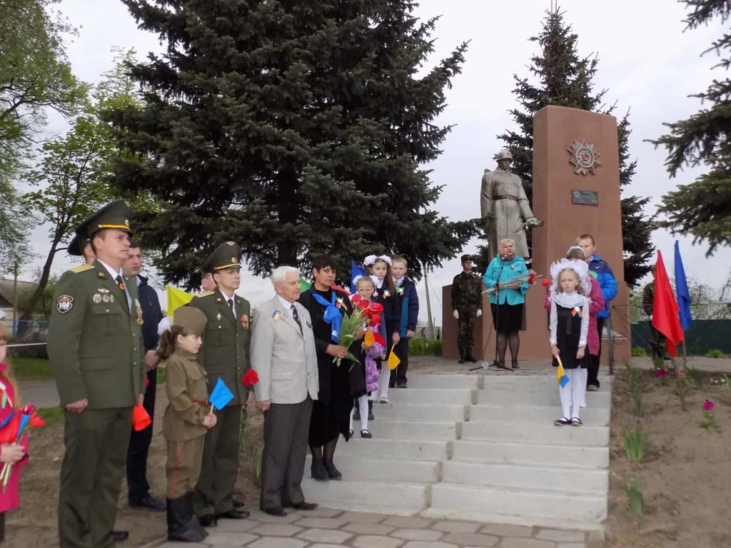 Миротворцы Гомельщины широко отпраздновали 9 мая – Дня Великой Победы. 1