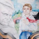 Х Региональная творческая акция «Рисуют дети» состоялась в мемориальном комплексе «Брестская крепость-герой» 7