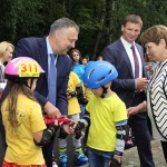 В городе Кобрине появился скейт-парк 3