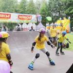 В городе Кобрине появился скейт-парк 1