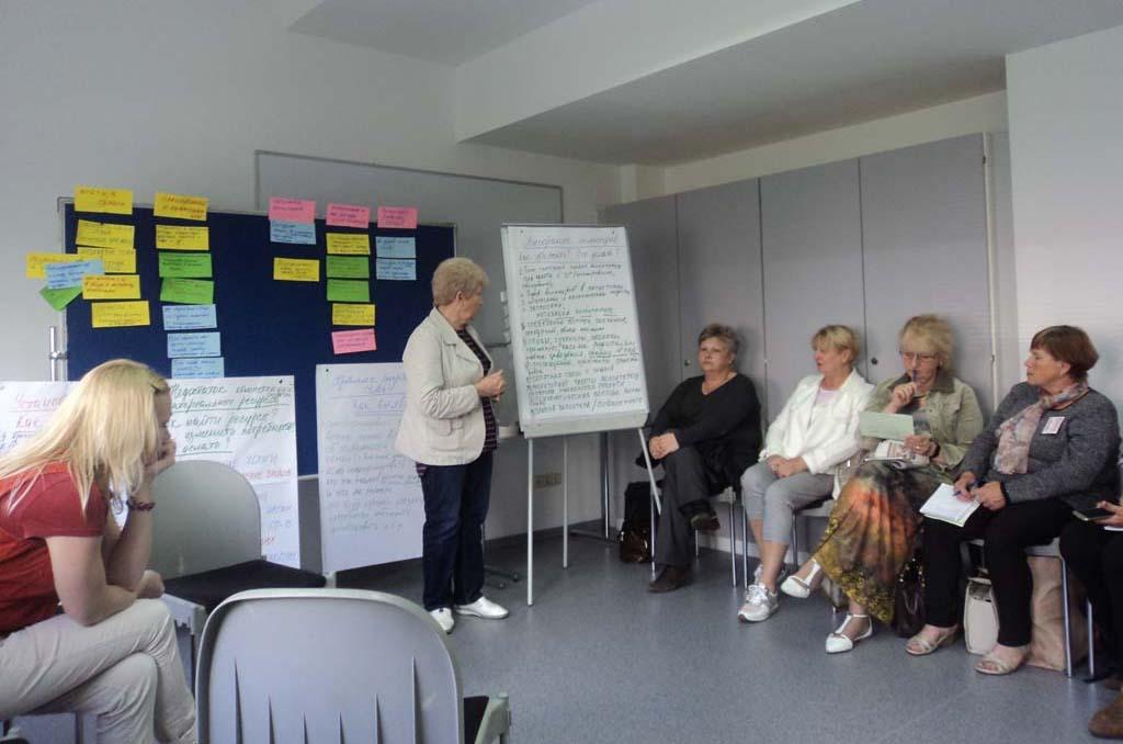 Семинар для грантополучателей гуманитарной программы «Место встречи: диалог» в Беларуси.
