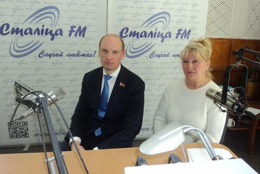 Интервью на радиостанции «Столица»