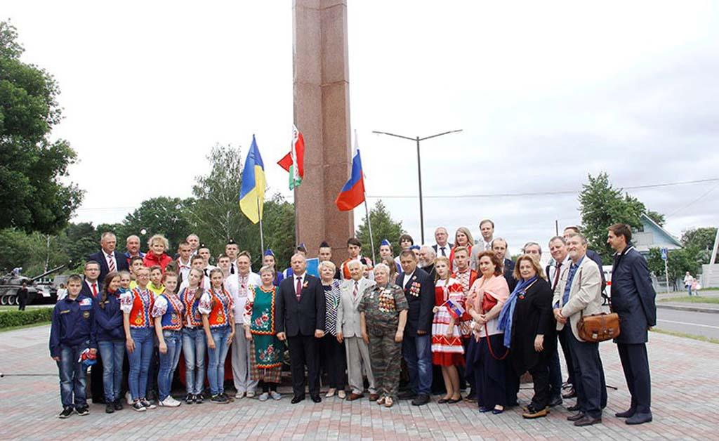 Рогачёвцы отметили День Независимости Республики Беларусь и 875-летие родного города