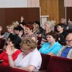 Отчетно-выборном собрании Сморгонской районной организации 3