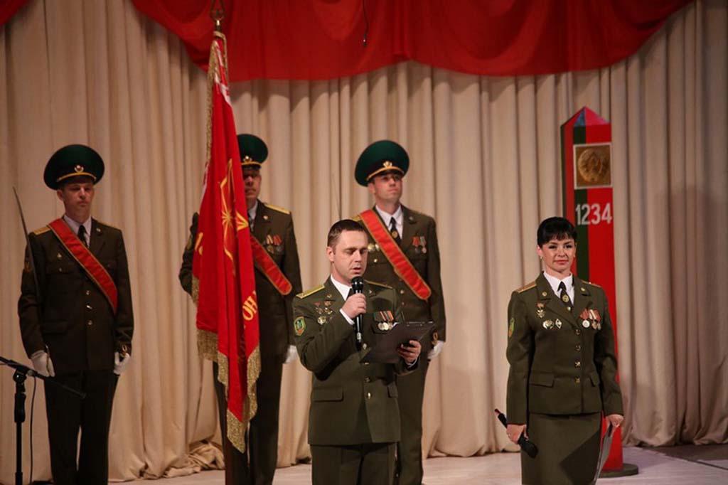 Лидскому погранотряду Гродненской области - 20 лет.