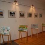 Открытие выставки рисунка в Международный День Мира. 2