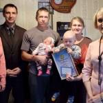Почетное звание «Дитя Мира» на Столинщине получили шесть малышей 3