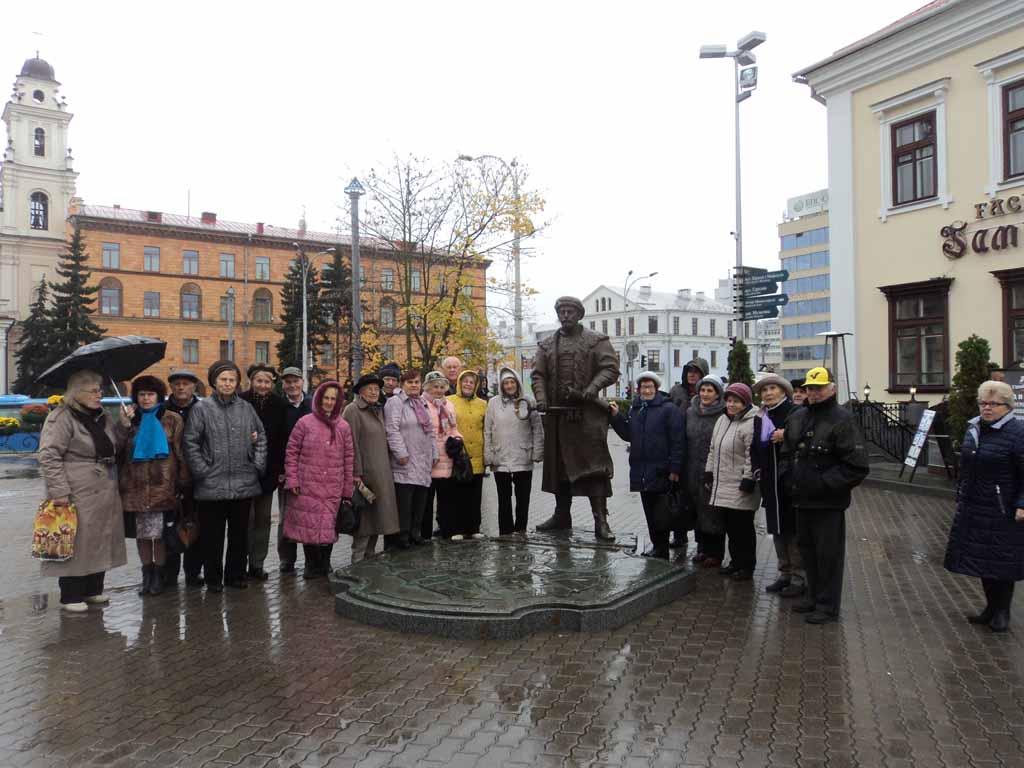 Обзорная экскурсия по Минску для целевой группы проекта «Социальная поддержка спасшихся жителей сожженных белорусских деревень»