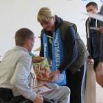 I межрайонные открытые соревнования среди инвалидов- колясочников 1