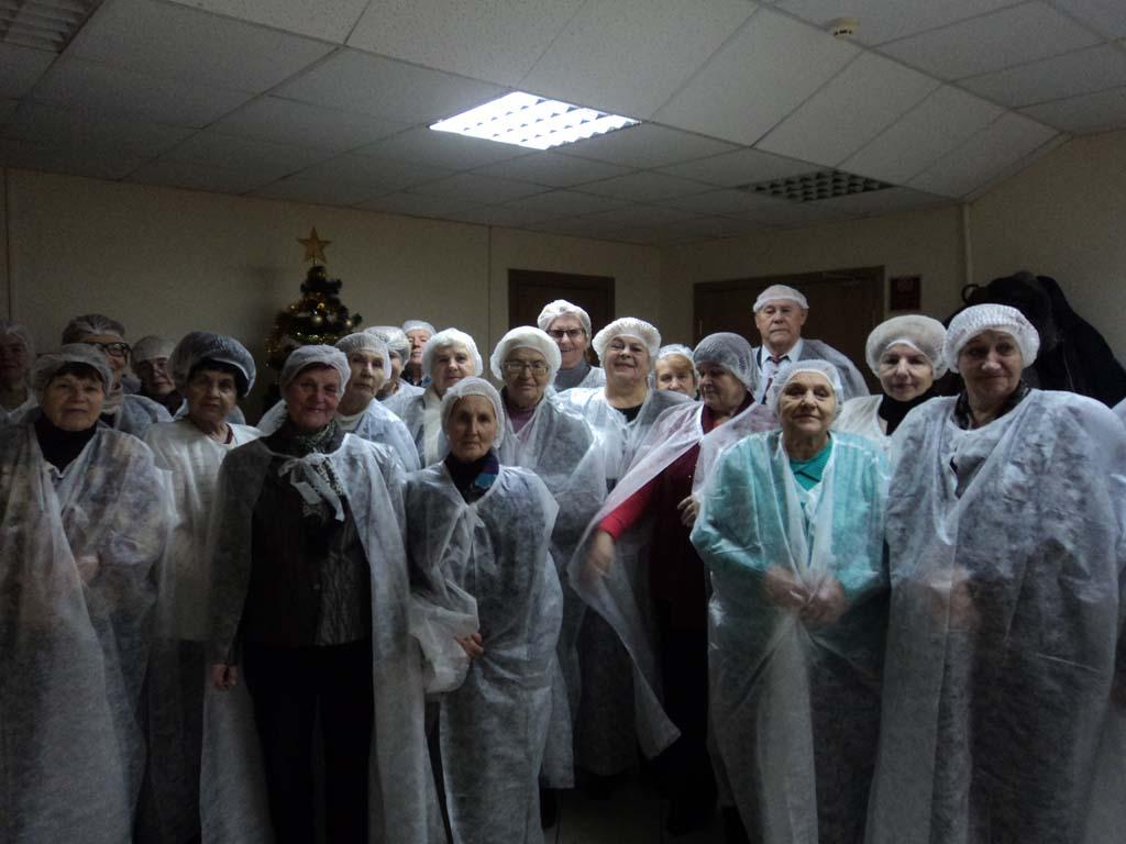 Экскурсия на кондитерскую фабрику «Коммунарка»