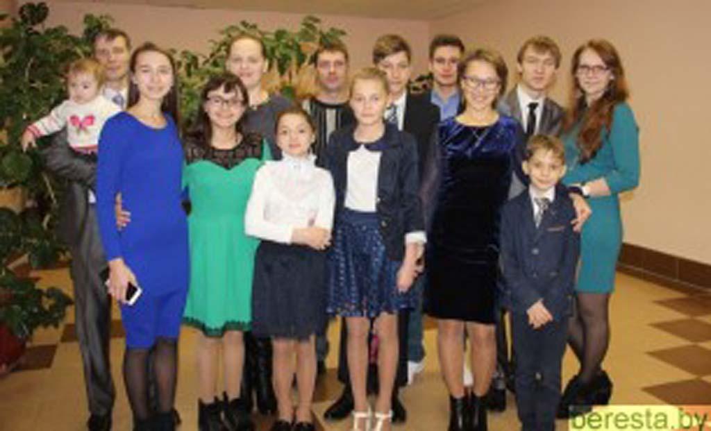 Детский дом семейного типа семьи Артамоновых отметил свое 10-летие